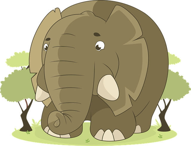 Elephant, Animal, Jungle, Savannah, Nature, Africa