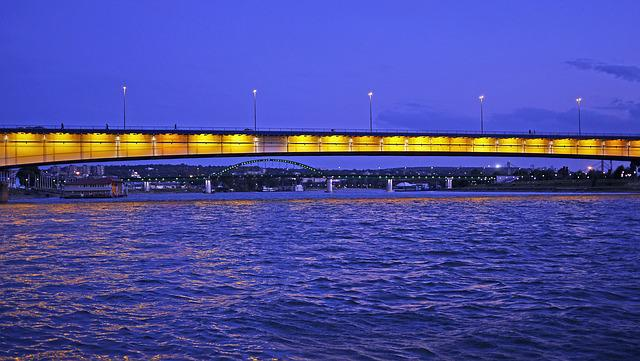 Save, Belgrade, Blue Hour, Bridges, Illumination
