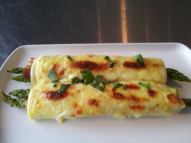 Crepes, French, Hollandaise, Sauce, Savory, Lunch