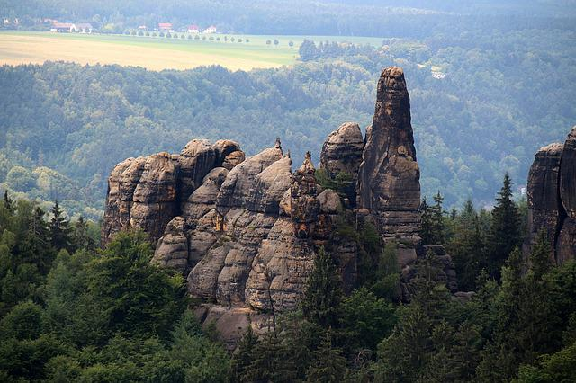 Saxon Switzerland, Elbe Sandstone Mountains, Germany