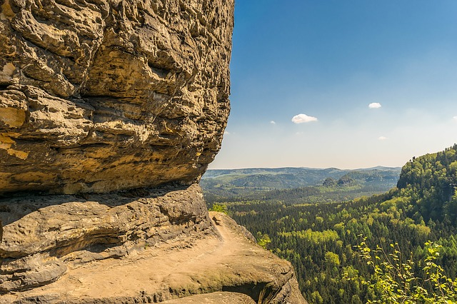 Rock, Saxon Switzerland, Elbe Sandstone Mountains