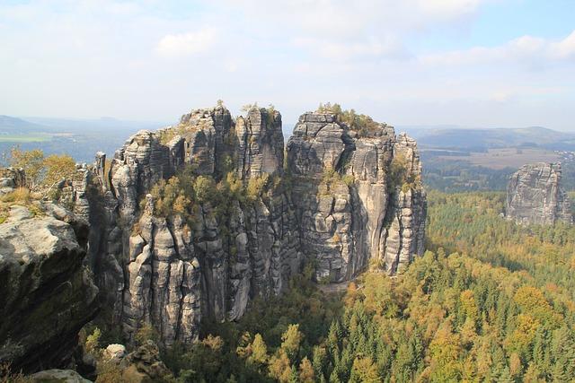 Elbe Sandstone Mountains, Saxon Switzerland, Saxony