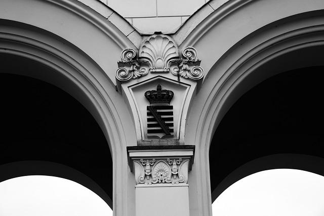 Goal, Archway, Input, White, Architecture, Arch, Saxony