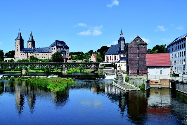 Rochlitz Castle, Saxony, Mulde