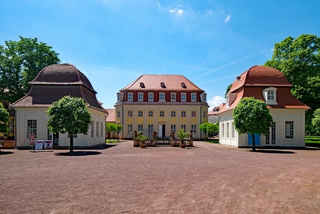 Kurhaus, Bad Lauchstädt, Goethe City, Saxony-anhalt