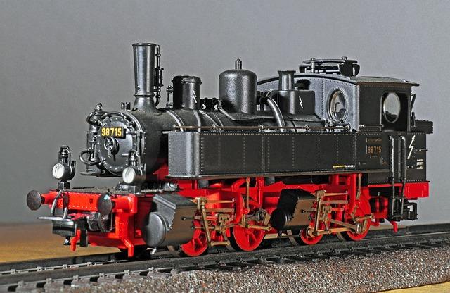 Steam Locomotive, Model, Scale H0, Bavarian Bb Ii, Br98