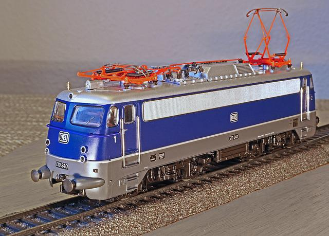 Electric Locomotive, Model, Scale H0, Classic, Crease