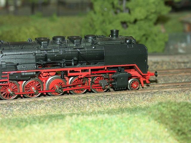 Model Railway, Steam Locomotive, Scale H0, Train