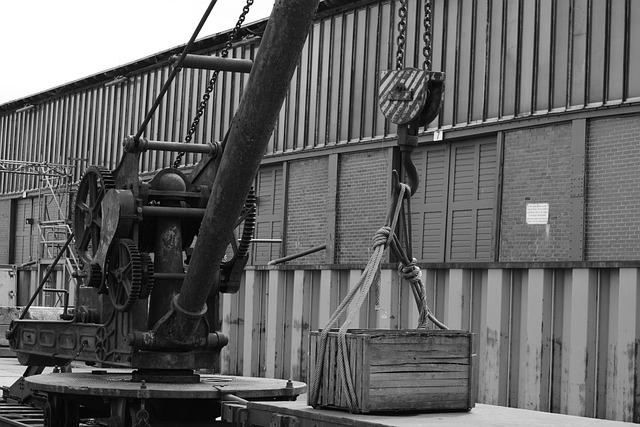 Technology, Port, Crane, Warehouse, Scale, Hamburg