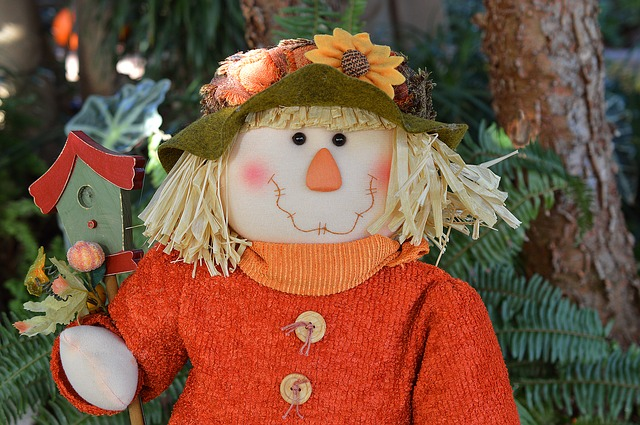 Scarecrow, Doll, Fall, Autumn, Harvest, October, Hat