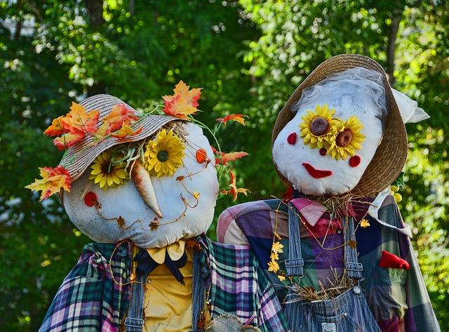 Scarecrow, Festival, Mahone Bay, Nova Scotia