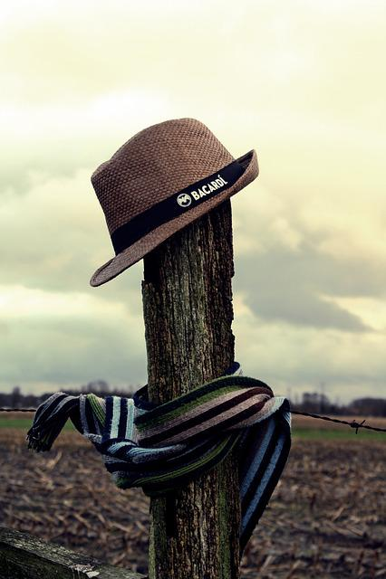 Scarecrow, Straw Hat, Moor, Teufelsmoor, Vörder Country