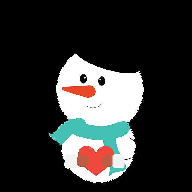 Snowman, Christmas, Winter, White Christmas, Scarf