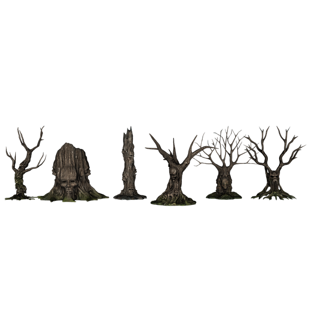 Trees, Forest, Creepy, Fantasy, Aesthetic, Kahl, Scary