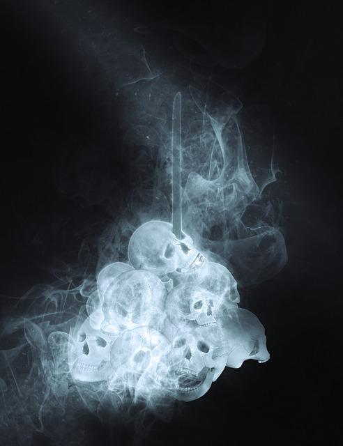 Skulls, Horror, Death, Fear, Scary, Dead, Halloween