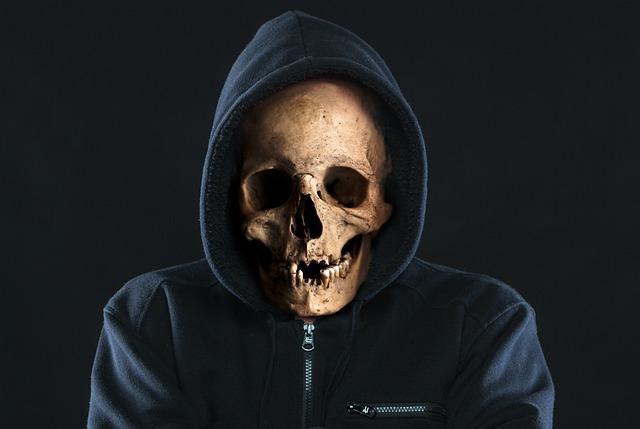 Skull, Scary, Horror, Death, Halloween, Skeleton, Dead