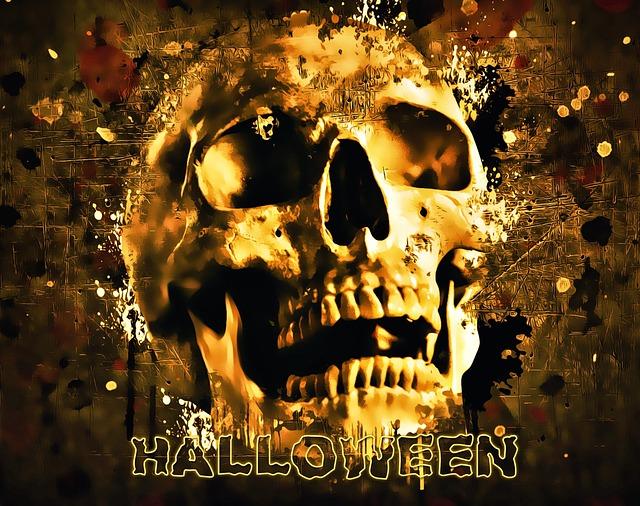 Halloween, Skull, Halloween Party, Horror, Scary