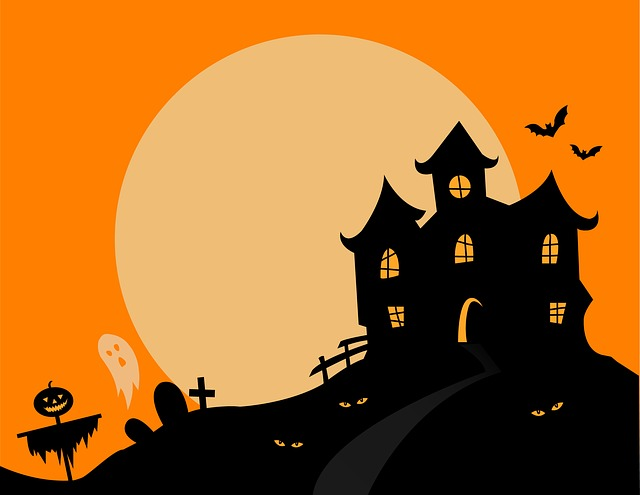 Haunted House, Halloween, Haunted, Scary, Spooky