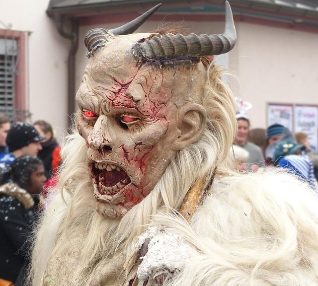 Hell's Spirits, Scary, Panel, Strassenfasnet
