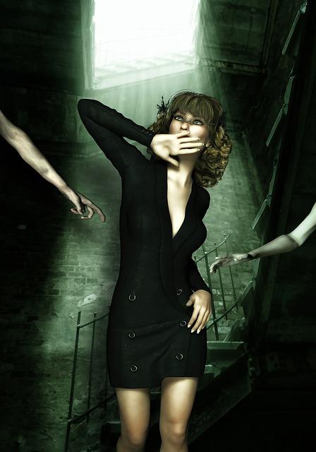Female, Horror, Fear, Woman, Fantasy Woman, Scary