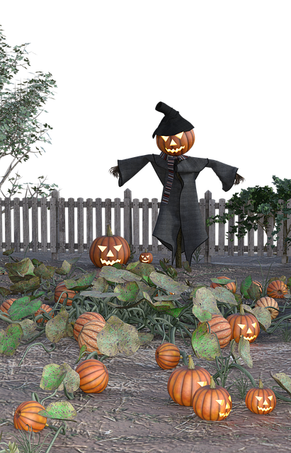 Pumpkin, Halloween, Scarecrow, Creepy, Scary