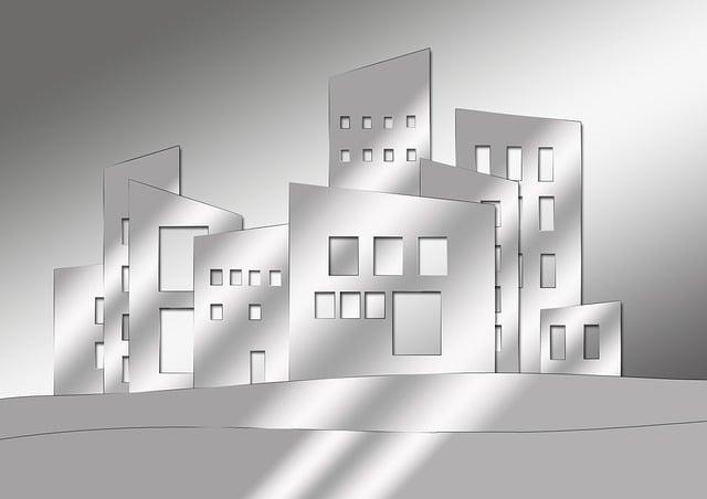 Architecture, City, Home, Homes, Window, Collage, Scene
