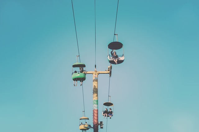 Life, Beauty, Scene, Ride, Cables, Wires, Color