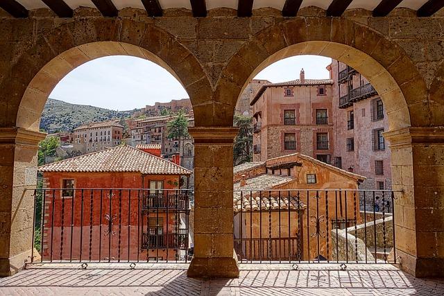 Arches, View, Aragon, Sandstone, Scene, Scenic
