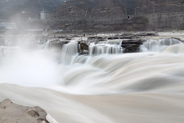 Landscape, Scenery, Hukou Waterfall, Shanxi