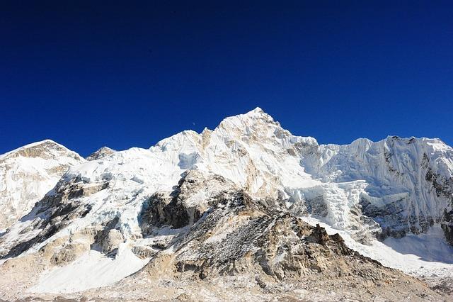 Trekking, Everest, Everest Base Camp, Nepal, Scenic