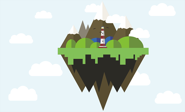 Sky, Mountain, Game, Stage, Rpg, Castle, Scenic