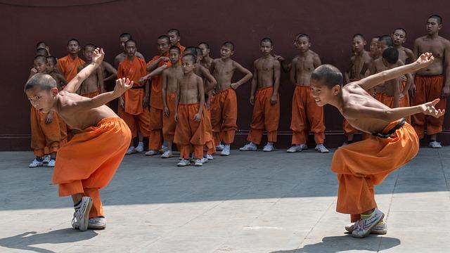 Schaolin, Monastery, Kung Fu, Exercises