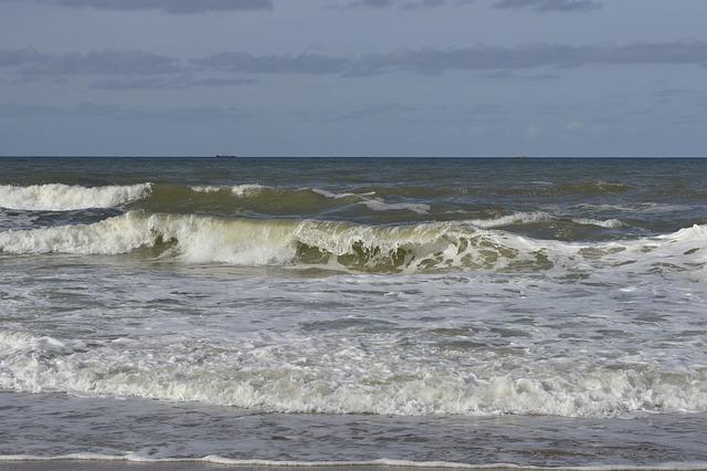 Sea, Beach, Coast, Nature, Scheveningen