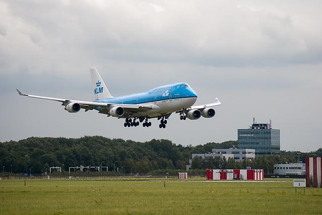 Plane, Runway, Klm, Airline, Airport, Schiphol