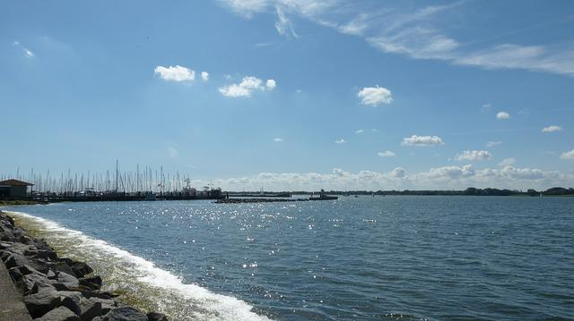 Maasholm, Schlei, Water, Germany, Mecklenburg, Boats