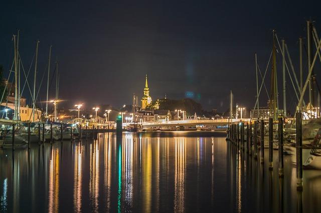 Kappeln, Port, Schlei, Mecklenburg, Architecture
