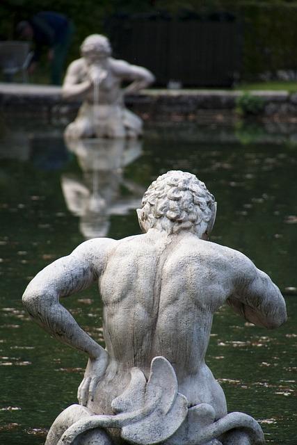 Hellbrunn, Salzburg, Aquarius, Schloss Hellbrunn