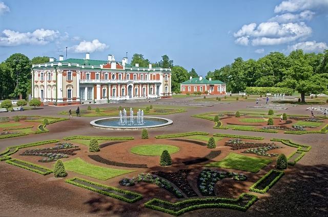Estonia, Tallinn, Schloss Katharinental, Castle