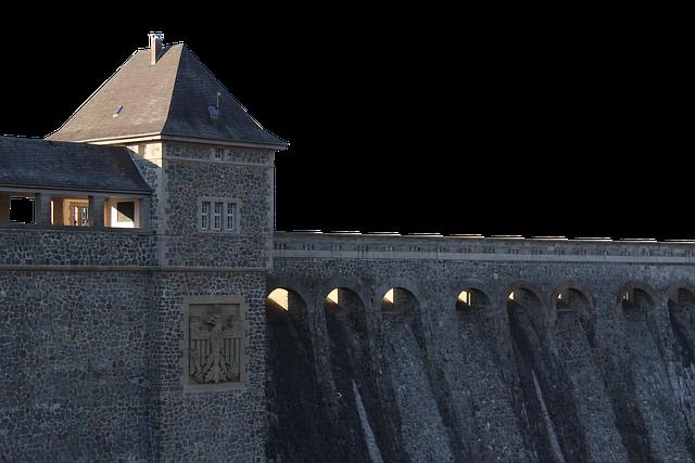 Edersee, Dam, Northern Hesse, Schloss Waldeck