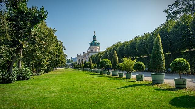 Castle, Schlossgarten, Architecture, Germany, Building
