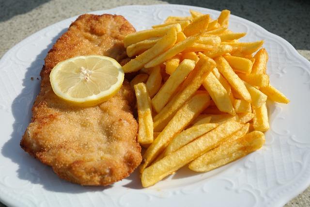 Schnipo, Schnitzel With Fries, Schnitzel, Eat, Lunch