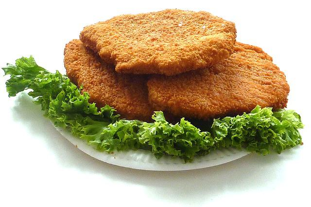 Chicken Cutlet, Schnitzel, Food, Fry Up, Chicken
