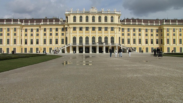 Schonbrunn Palace, Austria, Wien, World Heritage Site