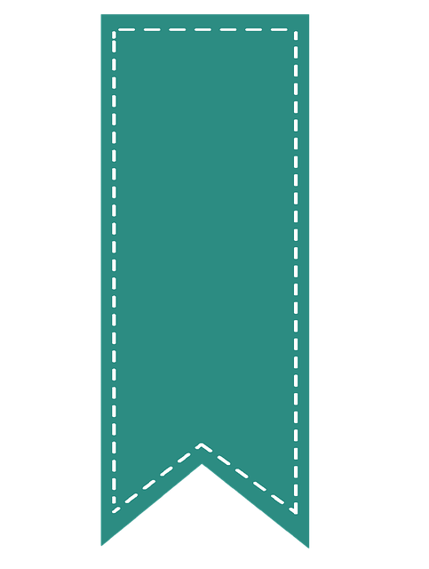 Ribbon, Bookmark, Education, School, Story, Book