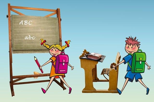 School, Back To School, Schulbeginn, Training