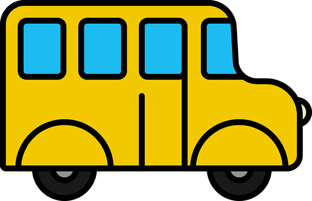 Icon, Bus, School Bus, School Van