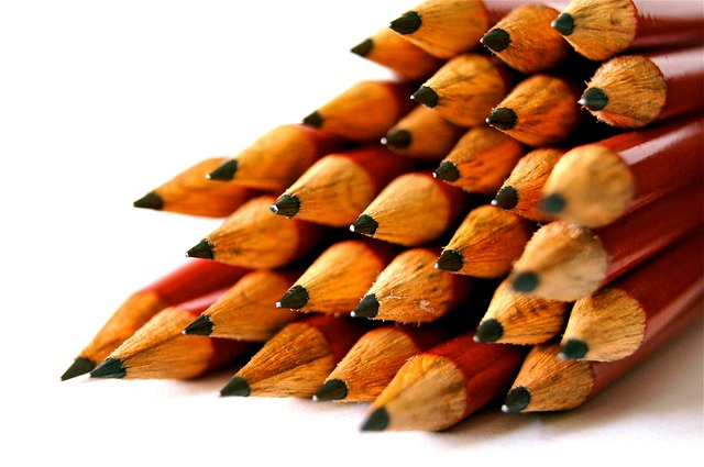 School, Pen, Great, Pointed, Write, Pencil, Wood