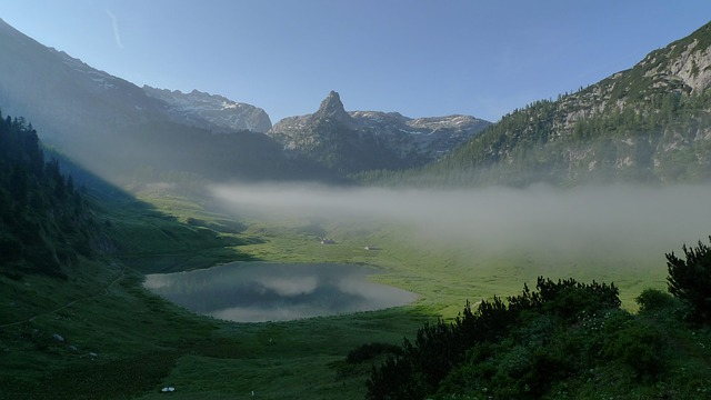 Funtensee, Schottmalhorn, Alpine, Bergsee, Hiking