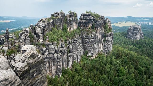 Schrammsteine, Elbe Sandstone, Stone Formation