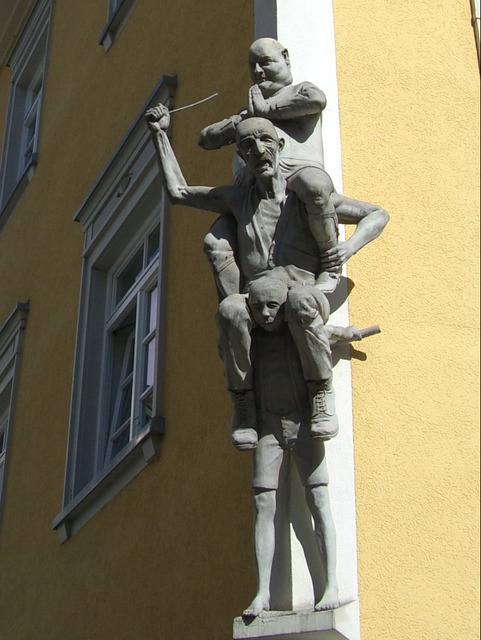 Schwaben Children, Ravensburger Kids Market, Sculpture